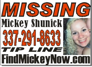 Mickey Shunick yard sign