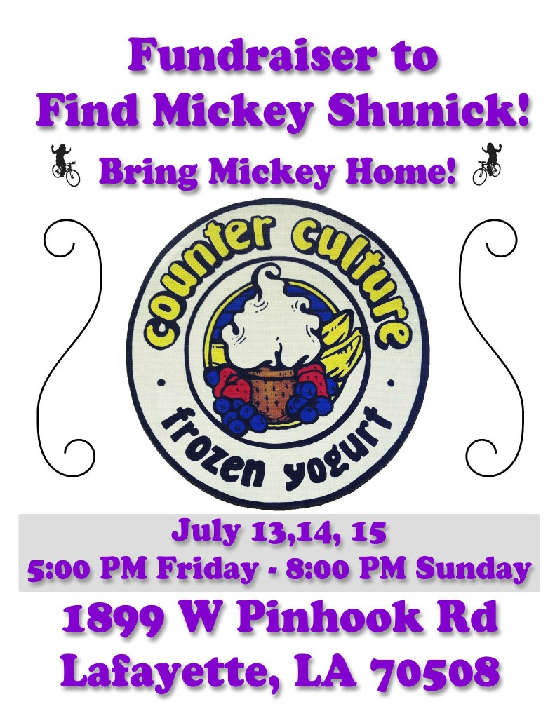 Fundraiser to Benefit Search for Mickey Shunick