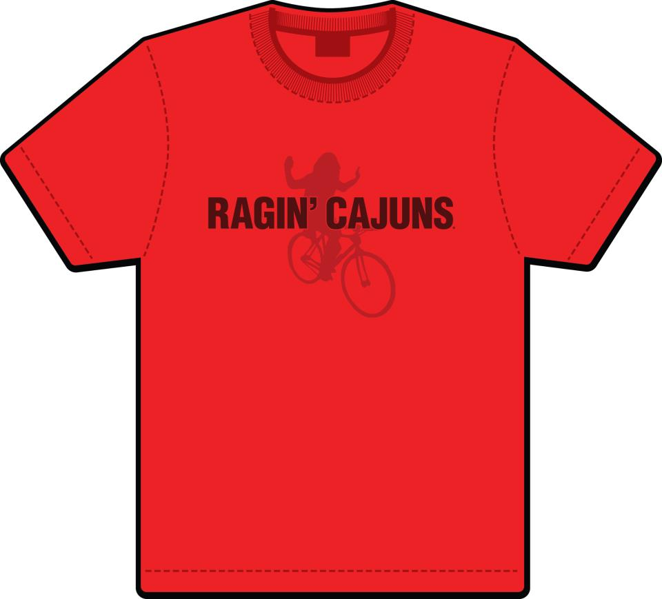 UL Lafayette Ragin' Cajun Mickey Shunick Shirts